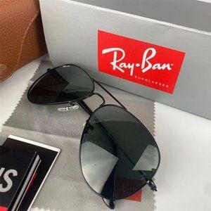 Ray-Ban large metal aviator classic G-15 RB3025 sunglasses &